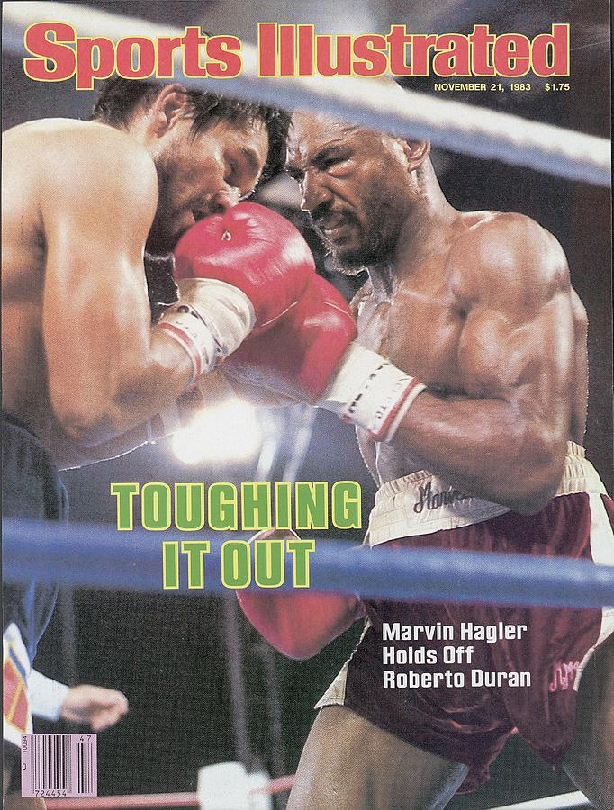 Marvelous Marvin Hagler, 1983 Wbcwbaibf Middleweight Title Sports Illustrated Cover Photograph by Sports Illustrated