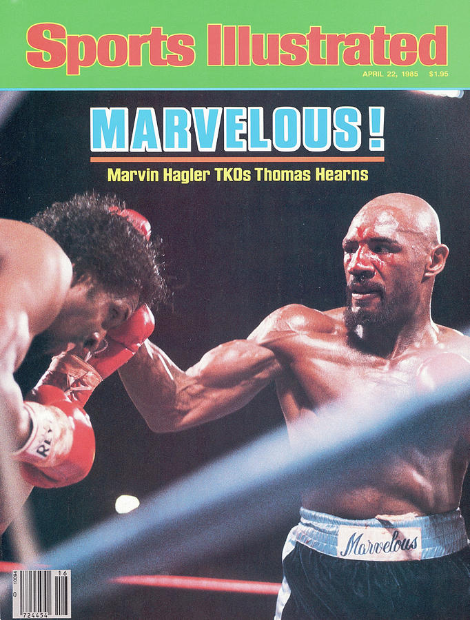 Marvelous Marvin Hagler, 1985 Wbc Wba Ibf Middleweight Title Sports Illustrated Cover Photograph by Sports Illustrated
