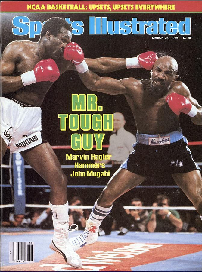Marvelous Marvin Hagler, 1986 Wbcwbaibf Middleweight Title Sports Illustrated Cover Photograph by Sports Illustrated