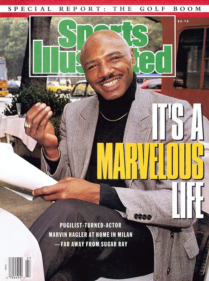 Marvelous Marvin Hagler, Middleweight Boxing Sports Illustrated Cover Photograph by Sports Illustrated