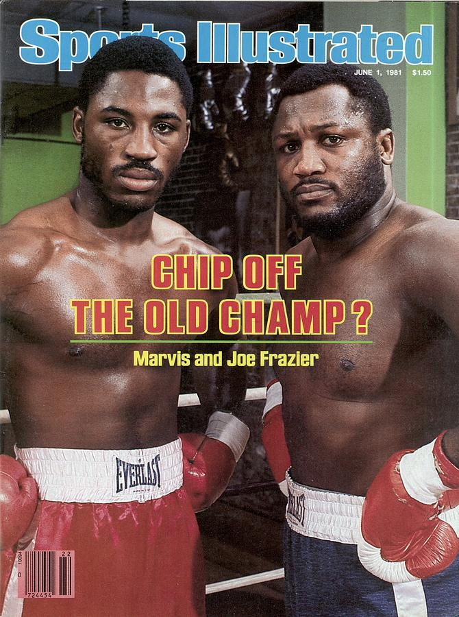 Marvis And Joe Frazier, Heavyweight Boxing Sports Illustrated Cover Photograph by Sports Illustrated
