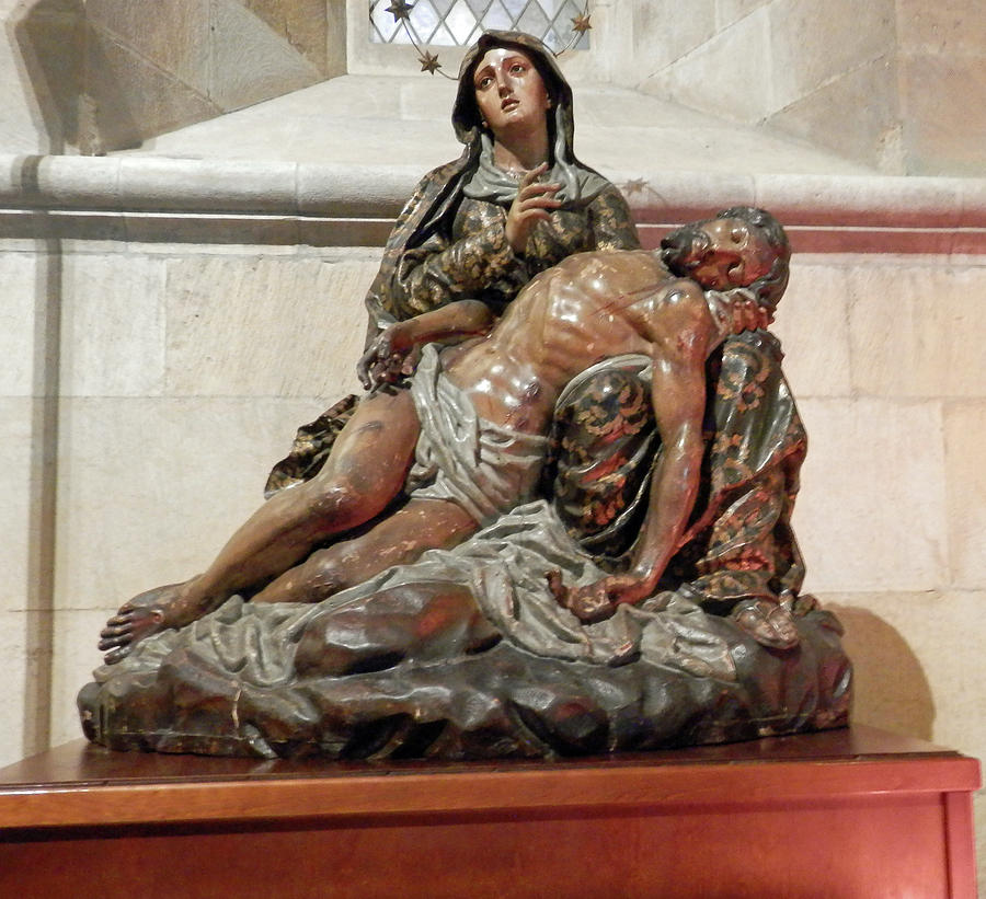 Mary and Jesus by Pema Hou