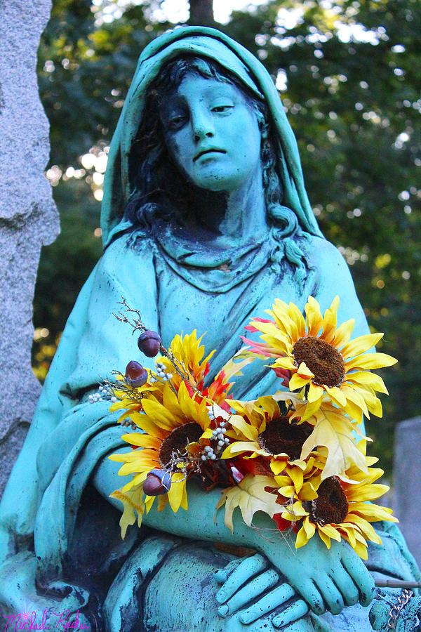 Statue Of Mary Photograph - Mary, Mother Of Jesus by Michael Rucker