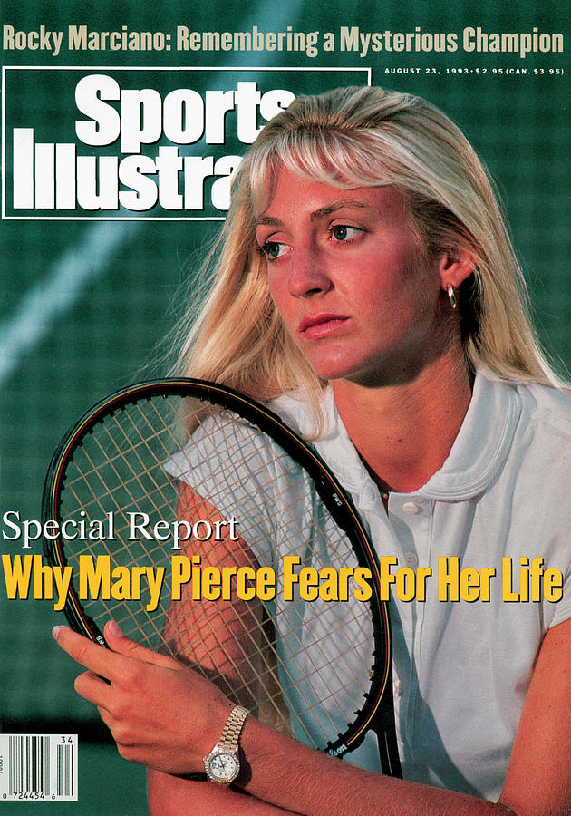 Mary Pierce, Tennis Sports Illustrated Cover Photograph by Sports Illustrated