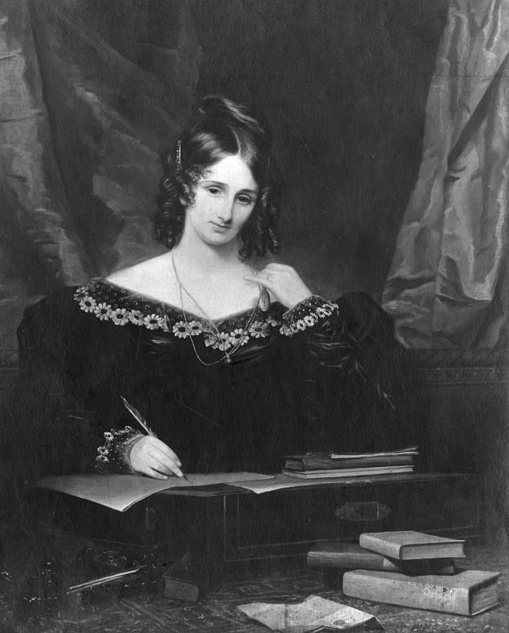 Mary Shelley Photograph by Hulton Archive