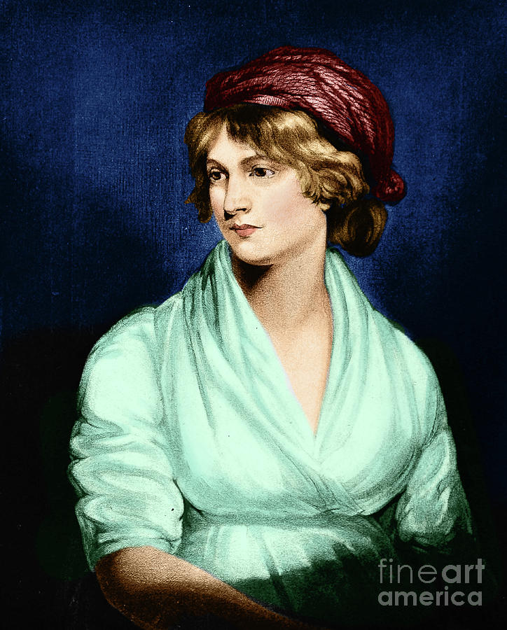 Mary Wollstonecraft by Science Source