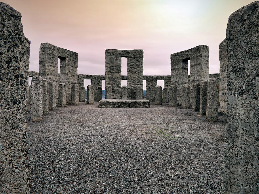 Balance Photograph - Maryhill Stonehenge by Leland D Howard