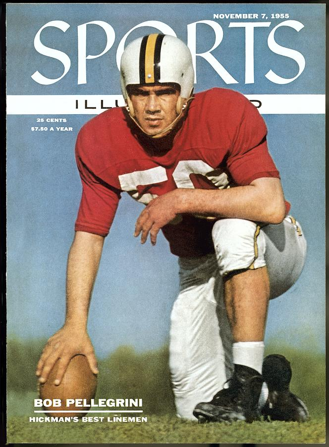 Maryland Bob Pellegrini Sports Illustrated Cover Photograph by Sports Illustrated