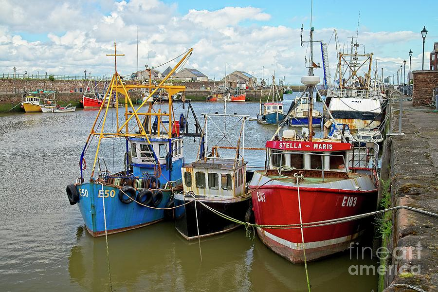 Maryport Fishing Boats Cumbria by Martyn Arnold