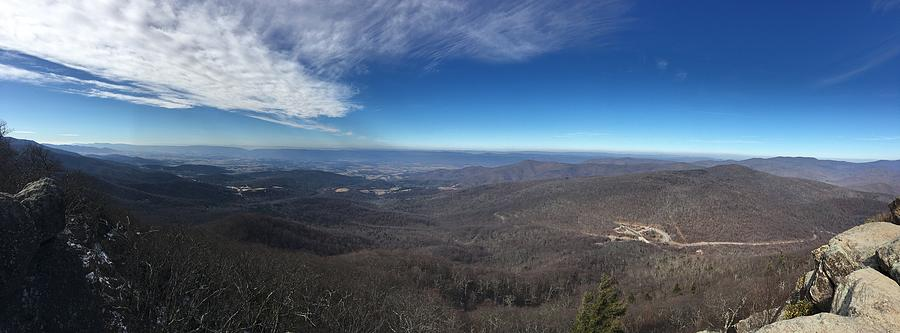 Mary's Rock Overlook Panorama by Natural Vista Photo
