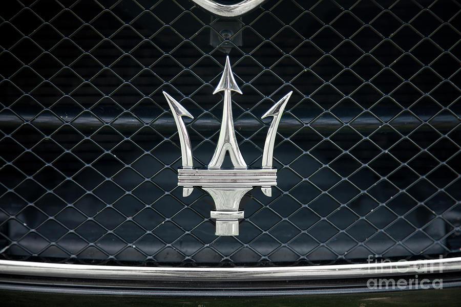 Maserati Logo Photograph by Stratol