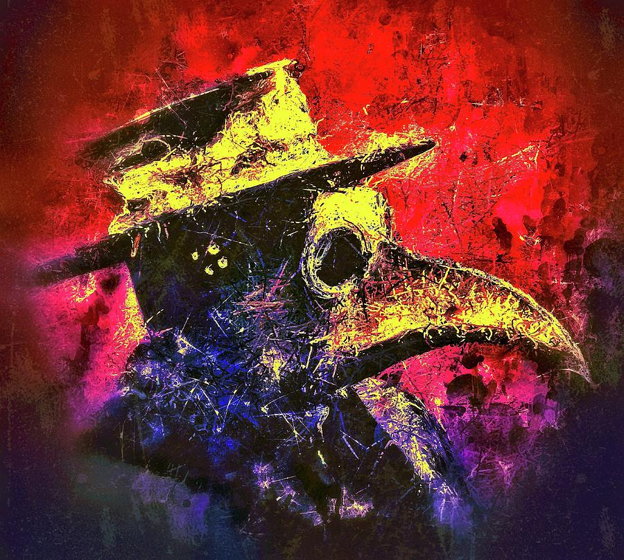 Plague Mask  by Al Matra