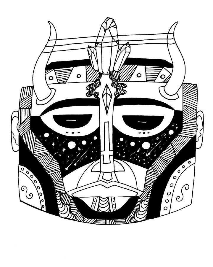 Mask No.8 by Kenal Louis