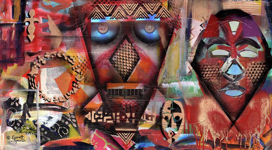 Masked Media by Everett Spruill