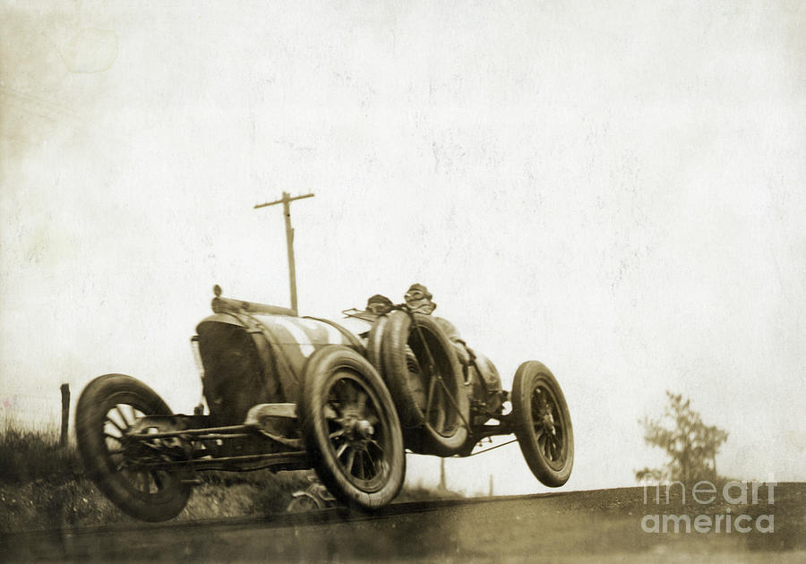 Mason Racecar In The Elgin Road Race Photograph by Bettmann