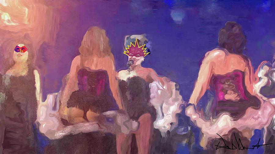 Masquerade Cabaret No.1 by David Valentine