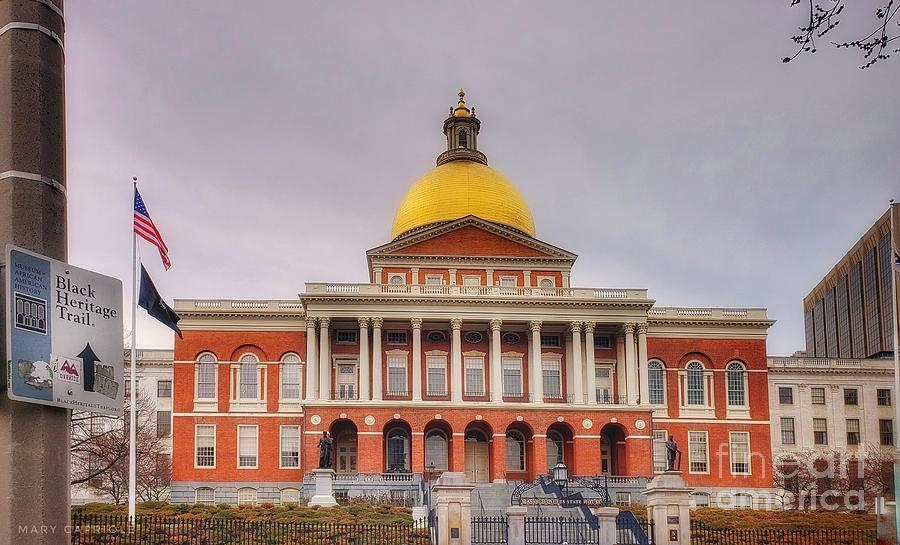 Massachusetts State House by Mary Capriole