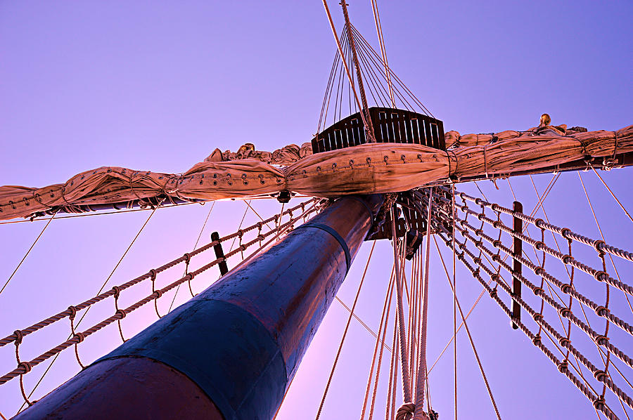 Mast And Sails by SimplyCMB