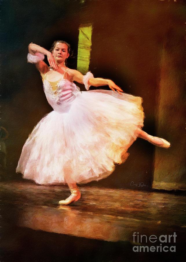 Masterpieces of Ballet 4 by Craig J Satterlee