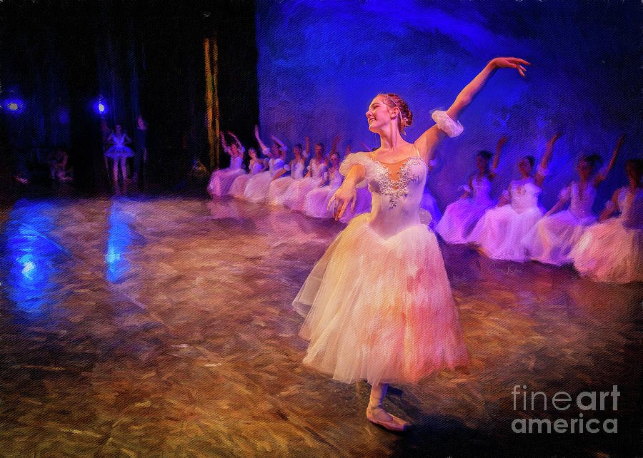 Masterpieces of Ballet 5 by Craig J Satterlee
