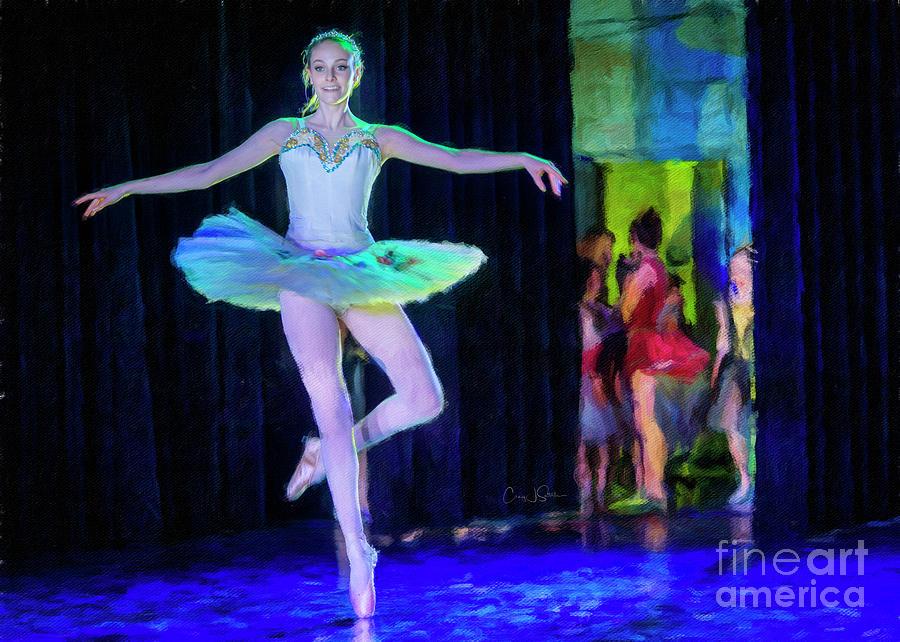 Masterpieces of Ballet 6 by Craig J Satterlee