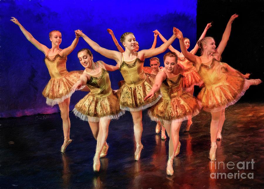 Masterpieces of Ballet 8 by Craig J Satterlee