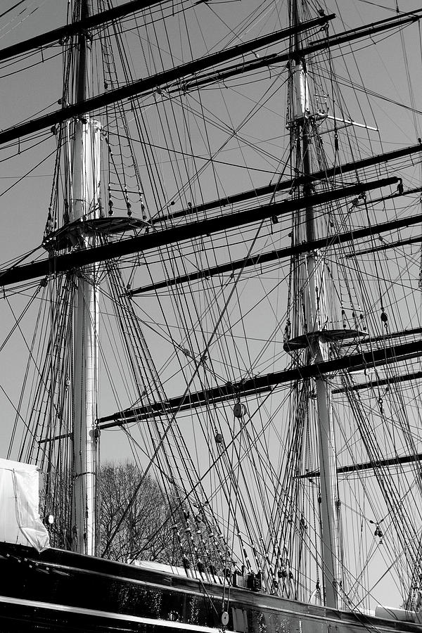 Masts and Rigging of the Cutty Sark by Aidan Moran