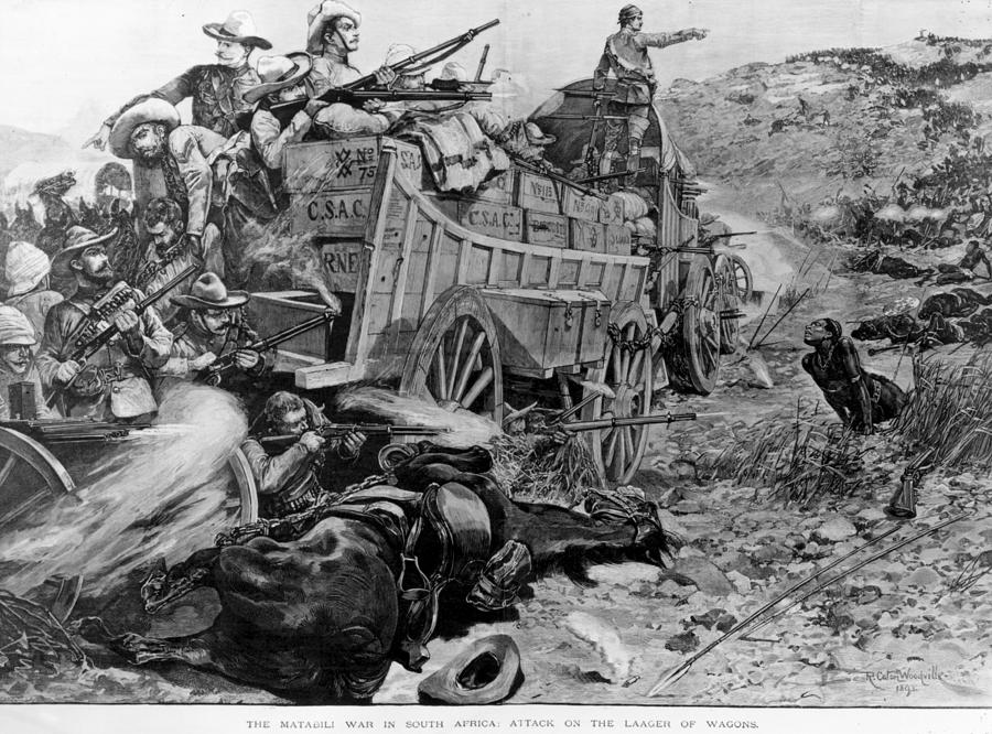 Matabele War Photograph by Hulton Archive