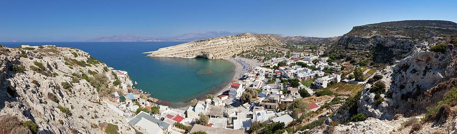Matala Bay, Crete Photograph by Saro17