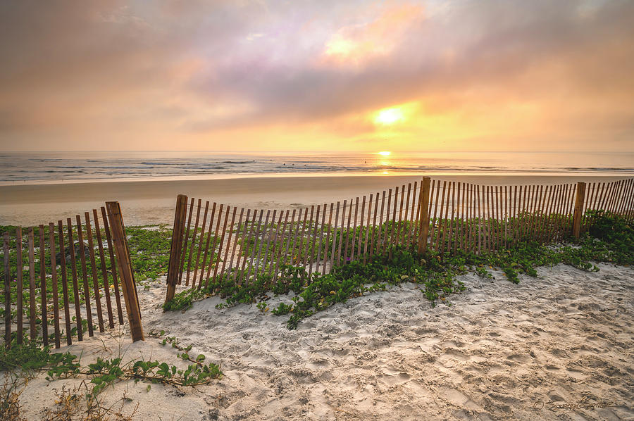 Matanzas Inlet Sunrise by Stacey Sather