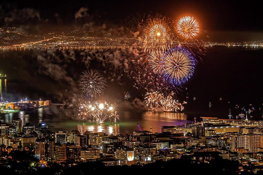 Matariki Fireworks #1 by Werner Kaffl