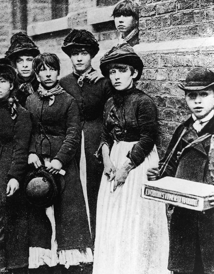Match Girls Photograph by Hulton Archive