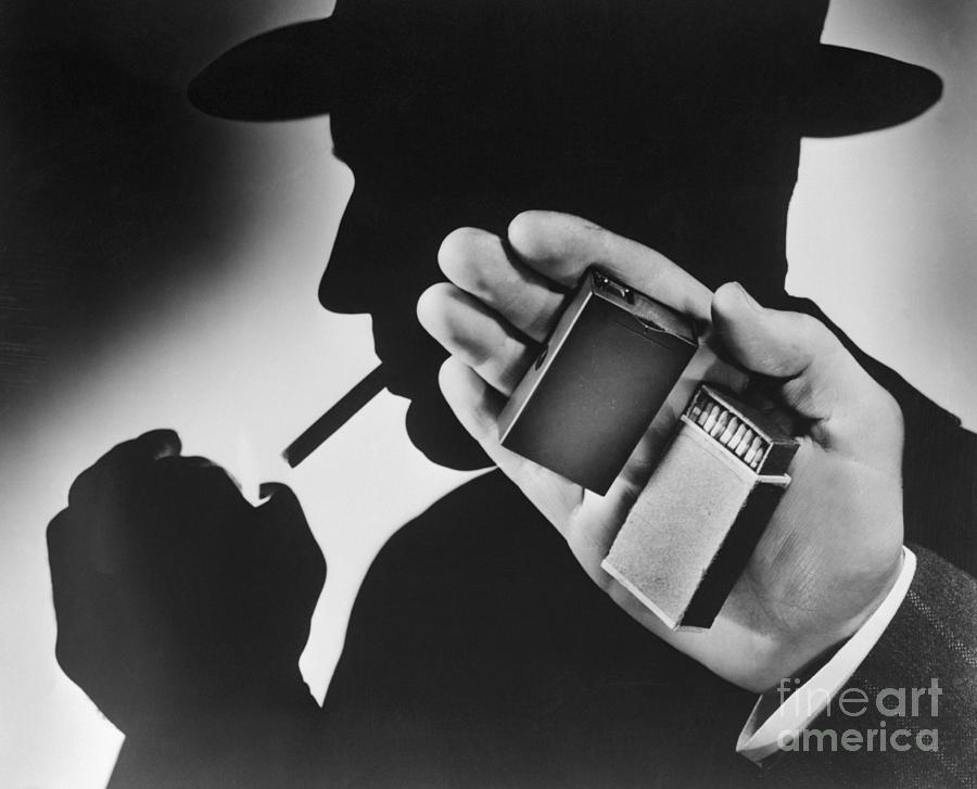 Matchbox Size Camera Used During World Photograph by Bettmann