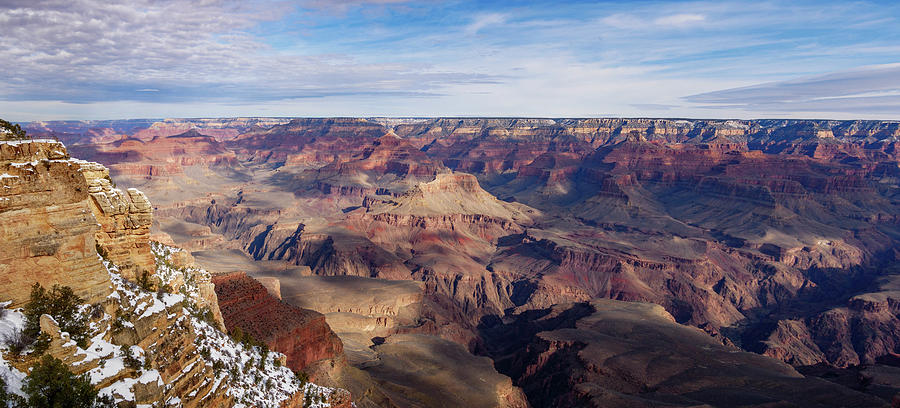 Mather Point Panorama by Todd Bannor