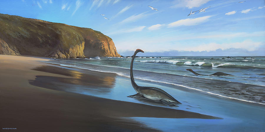 Mating Season Strands Beach by Cliff Wassmann