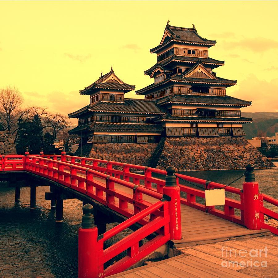 Symbol Photograph - Matsumoto Castle Japan by Neale Cousland