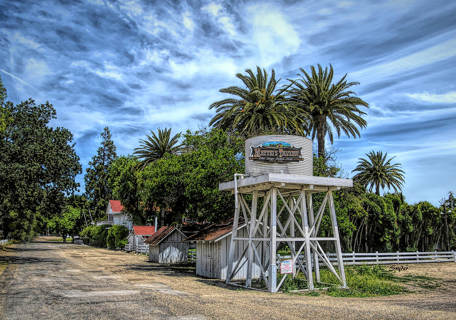 Matteis Tavern Los Olivos Stage Coach Stop by Floyd Snyder