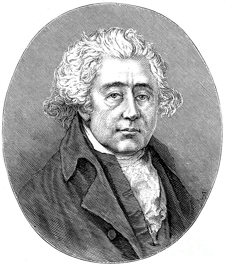Matthew Boulton, English Manufacturer Drawing by Print Collector