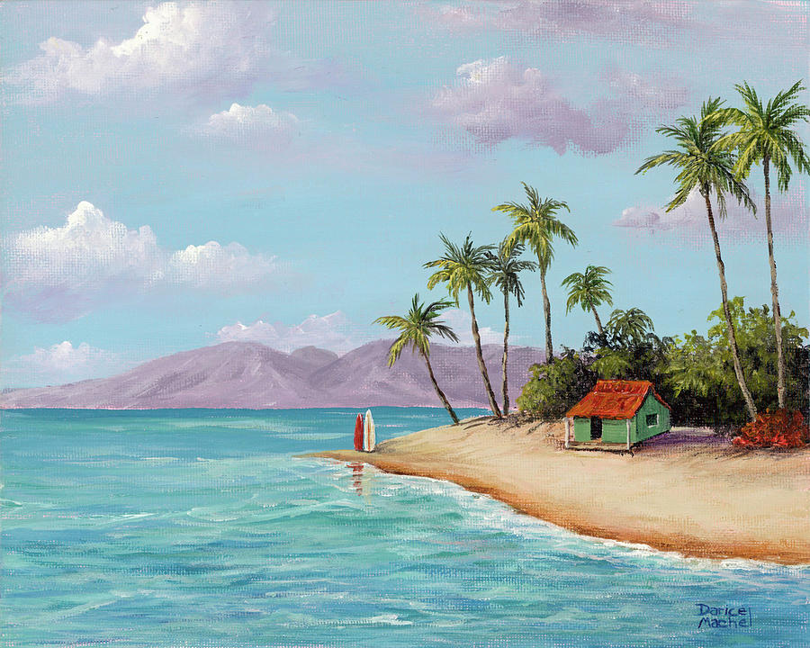 Maui Beach Hut by Darice Machel McGuire
