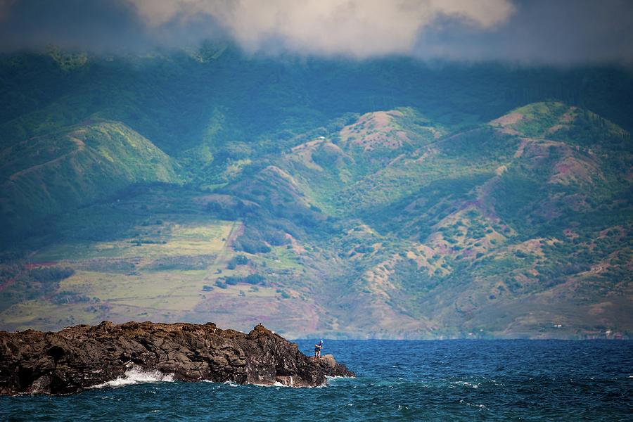 Maui Fisherman by Jeff Phillippi