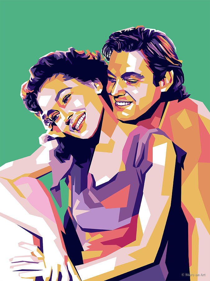 Maureen Osullivan And Johnny Weissmuller Digital Art