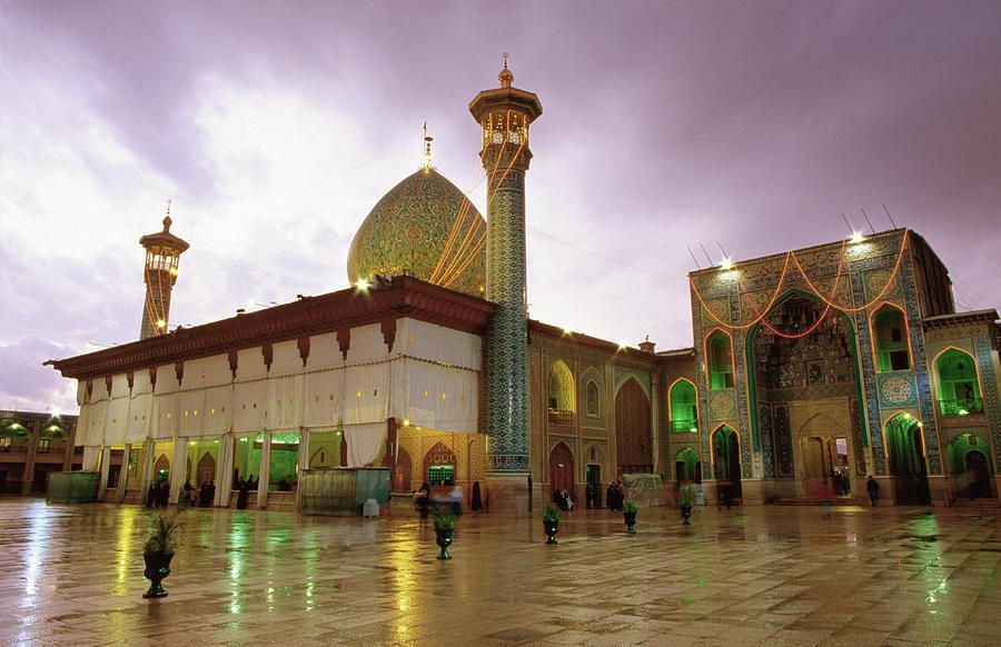Mausoleum Of Shar-e Cheragh, Shiraz Photograph by Mark Daffey