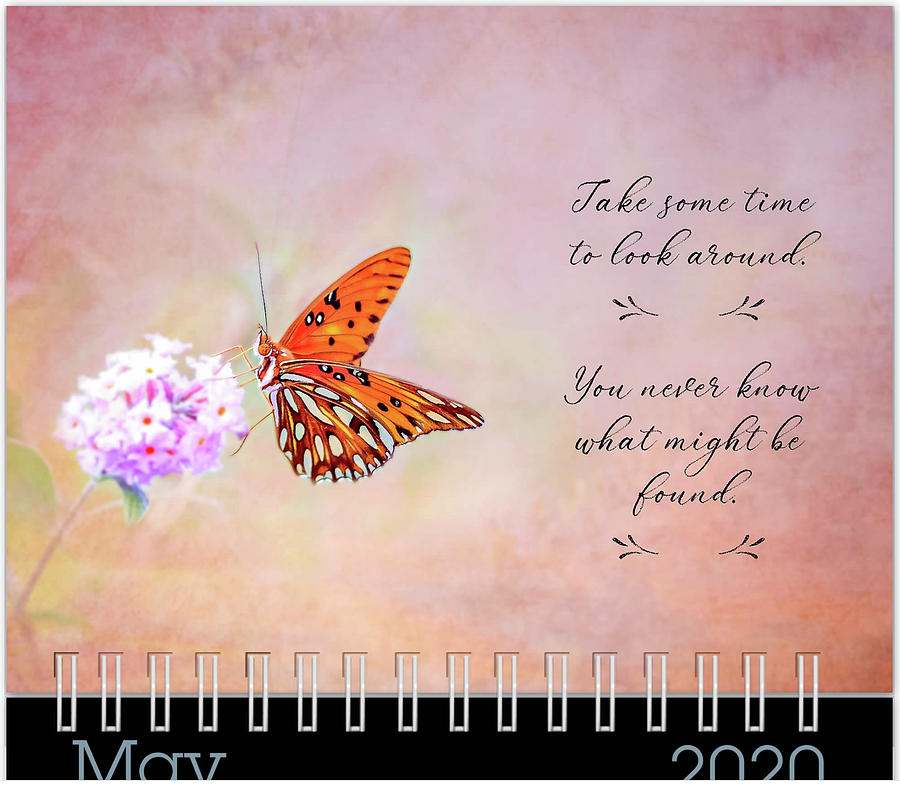 May 2020 Inspirational Calendar Preview by Joni Eskridge