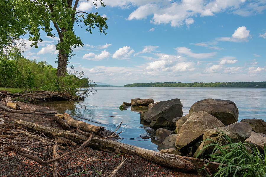 Hudson River Photograph - May Afternoon On The Hudson by Jeff Severson
