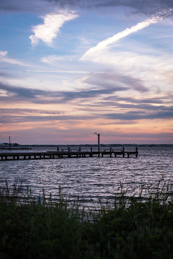 May Skies Lavallette New Jersey Photograph