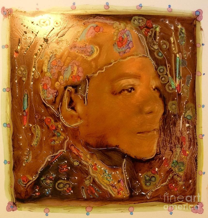 Maya Angelou by FeatherStone Studio Julie A Miller