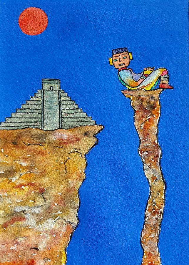 Mayan Sun Lore by John Klobucher