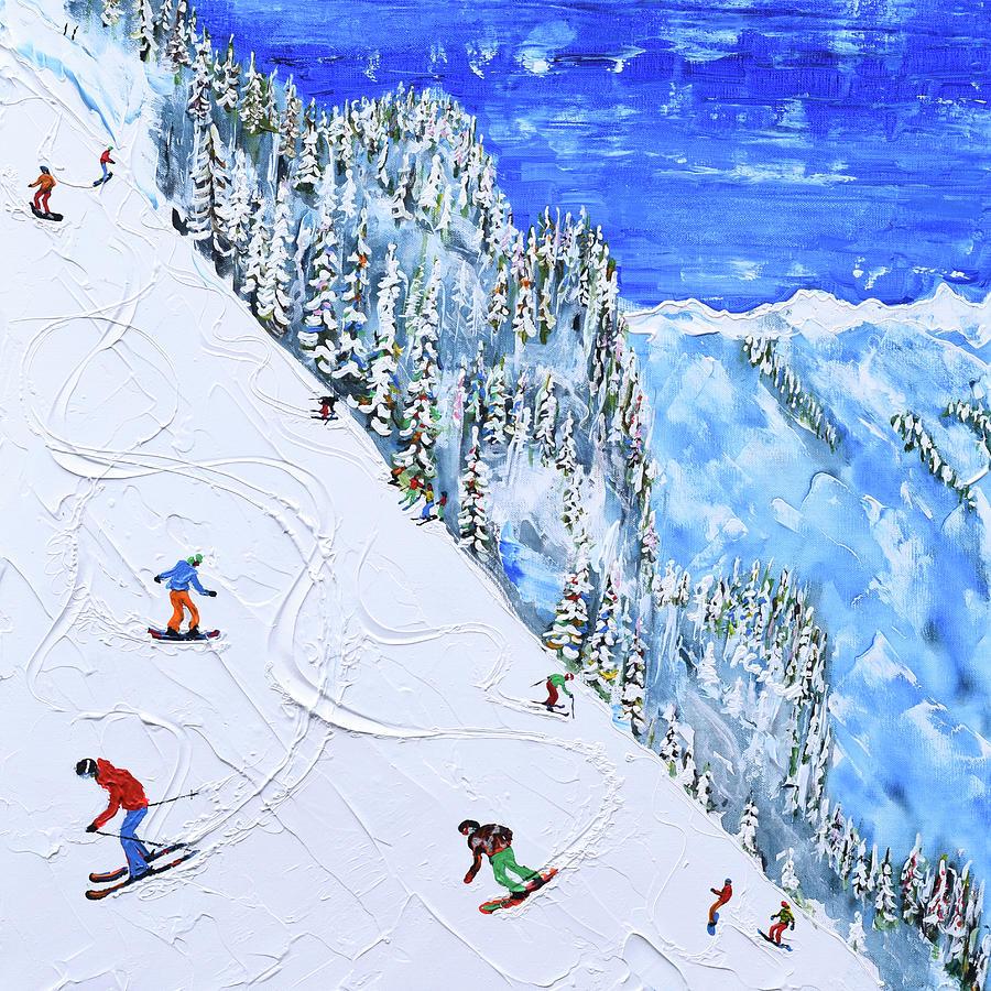 Mayrhofen Harakiri by Pete Caswell
