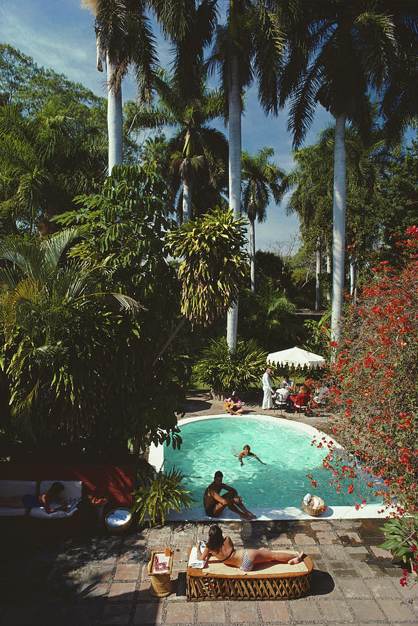 Mazatlan Mansion Photograph by Slim Aarons