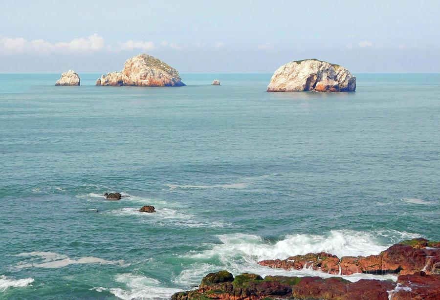 Mazatlan Seaside View Photograph